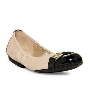 "Tahari ""Glenda"" 2 Tone Ballet Flat"